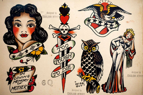 old school sailor jerry
