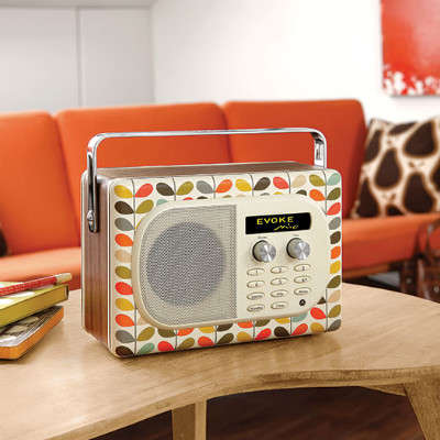 Radio Evoke by Orla Kiely, look vintage