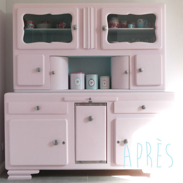 Inspirations d co repeindre un meuble vintage for Petit meuble cuisine retro