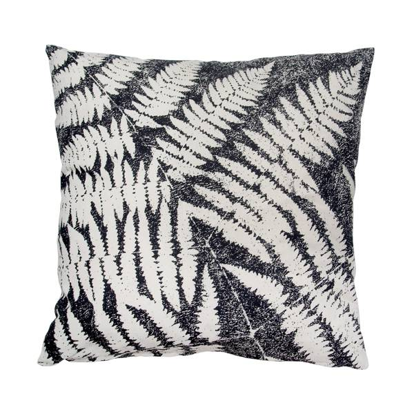 coussin feuilles de fougères living and compagny