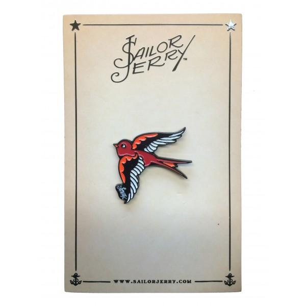 pin's sailor jerry objet old school