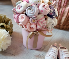 Baby Shower : le bouquet de chaussettes