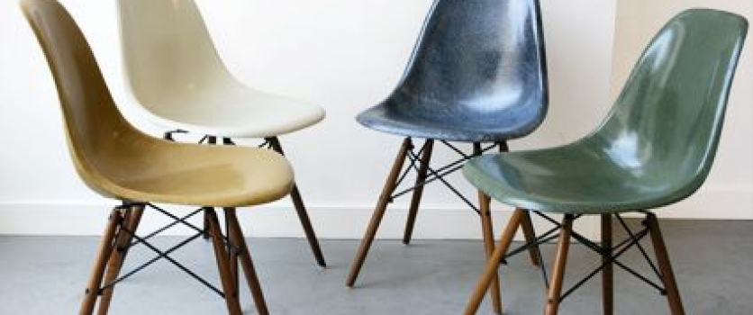 Icone du Vintage #1 : The Fiberglass chair – EAMES